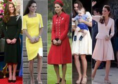 """Hems have crept below the knee, dresses are less figure-hugging, and sleeves also covered more of her arms. It's a wardrobe that's markedly more """"grown up"""" and more regal than before, royal watchers say. There's also much more color — bold, traffic-stopping hues — a choice that reflects her growing confidence, both as the face of a new generation of the British monarchy and as a style icon for women all over the world. (AP)"""