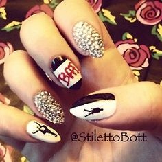 Michael jackson nail art nail art community pins pinterest micheal jackson mani whos bad my next nail art project prinsesfo Gallery