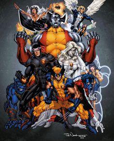 X-Men by ~drewdown1976 on deviantART