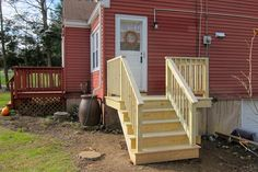 Pressure treated decks and stairs | Coventry CT deck builder