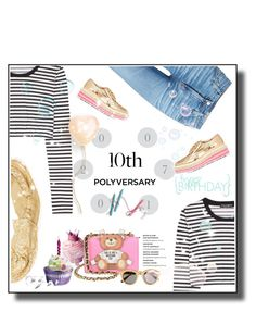 """Celebrate Our 10th Polyversary!"" by metropulse ❤ liked on Polyvore featuring AG Adriano Goldschmied, Dolce&Gabbana, Prada, Dsquared2, Moschino and STELLA McCARTNEY"