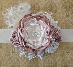 Vintage Fairytales over the top headband  by ChloeRoseCouture