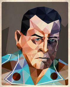Futuristic Picasso-Inspired Cubism Portraits