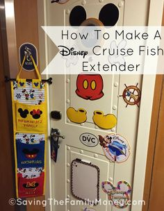 Instructions for making your own Fish Extender for organized gift exchanges on your next Disney Cruise