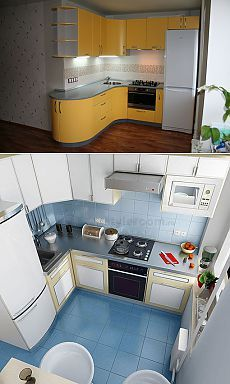 I like :) (one on the top) Simple Kitchen Design, Kitchen Room Design, Studio Kitchen, Home Decor Kitchen, Interior Design Kitchen, Corner Sink Kitchen, Small Space Kitchen, Diy Kitchen Cabinets, Small Spaces