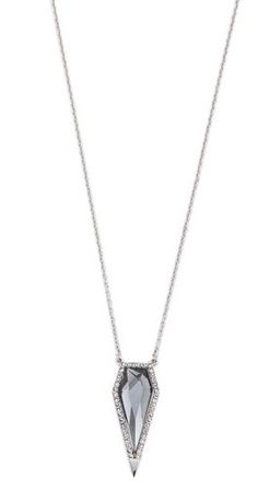 I'm obsessed with this Rebecca Minkoff clandestine blade pendant at ShopBop