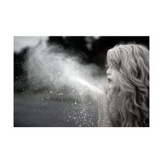 Dandelions and Dragonflies ❤ liked on Polyvore featuring pictures, people, backgrounds, girls, black and white and filler