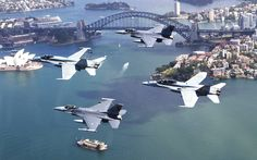 Composite Flight Over Sydney