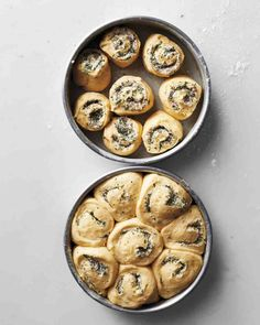 Herb-and-Cheese Rolls