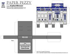 Paper Pezzy- R2 D2 by CyberDrone.deviantart.com on @DeviantArt