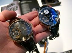 Fancy | Just Because: Two IWC Siderales In OneHand - Watches Worth Knowing About - HODINKEE
