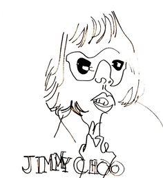 belle BRUT sketchbook: #nicolekidman for #jimmychoo #fashion #style #illustration #blindcontour © belle BRUT 2014 http://bellebrut.tumblr.com/post/93743484915/belle-brut-sketchbook-jimmychoo-fashion-style