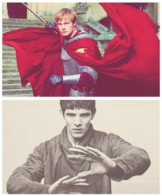 Arthur and Merlin: the knight and the wizard