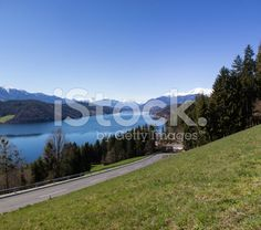 #View To #Lake #Millstatt in Spring @iStock #iStock #ktr15 @carinzia #landscape #nature #season #outdoor #panorama #holidays #vacation #travel #sightseeing #leisure #bluesky #green #grass #stock #photo #portfolio #download #hires #royaltyfree