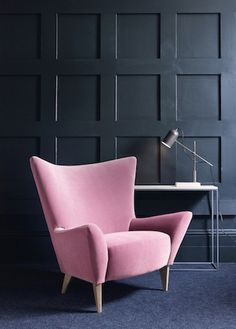 Matador armchair in Rose Pink velvet, from £995.00 from Content by Terence Conran