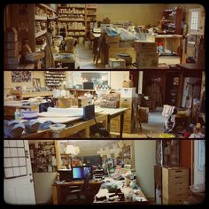 Still catching up on #MarchMeetTheMaker; Day 3: Workspace. At the risk of sounding like a spoiled brat... here's my 2000 sq ft studio on our 15 acres that we bought last year. Y'all. Y'ALL. Sometimes this shit still doesn't seem real. There's a few hundred square feet not shown in a garage attached to the building; my husband uses that for his woodworking projects and my kiln is out there since it's covered but open -- that way we didn't have to put in a venting system to handle kiln fumes…