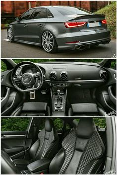 Audi S3 Limousine Audi Sedan, Audi Rs, Best Luxury Cars, Amazing Cars, Exotic Cars, Cars And Motorcycles, Cool Cars, Dream Cars, Super Cars