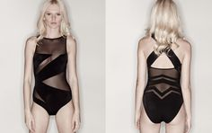 Beach beauty: cut-out swimwear by OYE » Lost At E Minor: For creative people