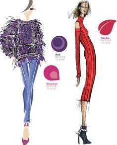 fall winter 2013 2014 new york fashion week color report, pantone, Bibhu Mohapatra, Pamella Roland by Pamella Devos