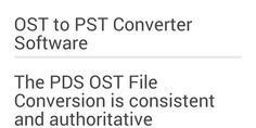 OST to PST Recovery Software helps you to completely recover OST file and convert OST file into PST/EML/HTML/TXT/RTF/PDF and outlook profile etc.  Read More:-http://mail2web.com/plugins/addons/addins-for-excel/data-management/download-ost-to-pst-file-converter_8237.html