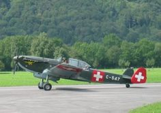 C-3603 chasseur bombardier Luftwaffe, Swiss Air, Ww2 Aircraft, World War Two, Switzerland, Air Force, Military, Aeroplanes, Outdoor
