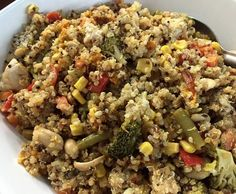 Recipe Chicken and Quinoa Salad by Melinda_thermomix - Recipe of category Main dishes - others