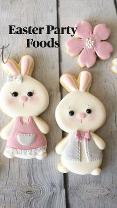 Easter Cookies, Easter Treats, Christmas Cookies, Easter Desserts, Easter Food, Easter Dresses For Women, Easter Dresses For Toddlers, Wiener Schnitzel, Sugar Cookie Royal Icing