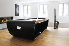 Blacklight Pool Table - Luxury Games Products from Quantum Play - Delivering Superior Entertainment www.quantum-play.com