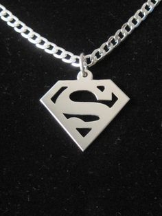 Hey, I found this really awesome Etsy listing at https://www.etsy.com/listing/151120352/superman-pendent-well-crafted-sterling