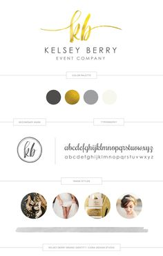 Kelsey came to me looking for a chic, sophisticated and bold look to represent her high-end event company on Martha's Vineyard. She wanted her brand identity to showcase what makes her company special, which is her deep dedication to each of her clients and a commitment to execute each event as if it was her own.