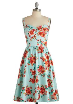 Posy Parlance Dress, #ModCloth This one too! My God, I could just drool all over everything at ModCloth...best store ever.