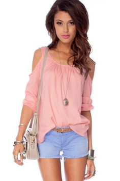 This shirt is so adorable with jeans shorts.  How do or would u make it ?