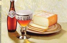 Orval, bière et fromage