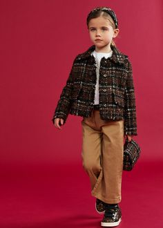 DOLCE & GABBANA FW 20/21 Little Girl Fashion, Kids Fashion, Dolce And Gabbana Kids, Dope Outfits, To My Daughter, Baby Kids, Fall Winter, Women Wear, Spring Summer