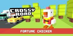Just unlocked Fortune Chicken! #crossyroad