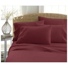 1800 Series Premium Ultra Soft Bed Sheet Set with Bonus Pillowcases $23.99 + Free Shipping!