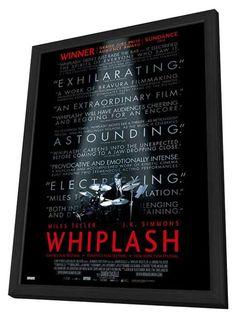 Whiplash (Canadian) 27x40 Framed Movie Poster (2014)