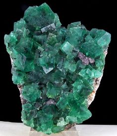 Large Cluster BlueGreen Fluorite Crystals by ExoticMinerals, $995.00