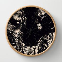 #wallclock #clock #nicebleed #artist #art #design #poster #artprint #cool #gift #Illustration