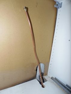 New gas lines for the refrigerator
