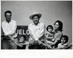 Dolores Huerta and other members of the United Farm Workers, Julian Nava Collection.