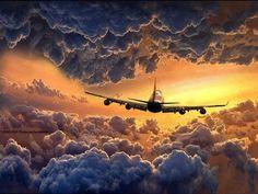 Flying through the heavens