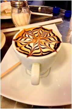 Drink a cup of coffee at Artesanos Café in Caracas.  Beautiful Venezuela