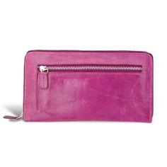 25%korting  Verrassend, kleurrijke echt leren dames portemonnee.Nu met €11,- korting. • Stijlvol en handig  •  Voor bankpasjes, muntgeld en mobieltje.