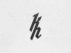 Dribbble - Kristian Hay Monogram V.2 by Kristian Hay