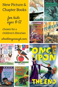 Non-fiction picture books and fictional chapter books published in 2014 for kids ages 6-12.