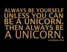 I am a unicorn!!