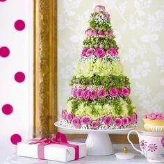 Un gâteau fleuri pour grandes occasions