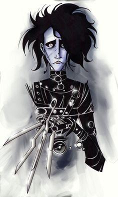 Edward Scissorhands by ~dnmn89.