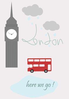 Affiche Londres à imprimer